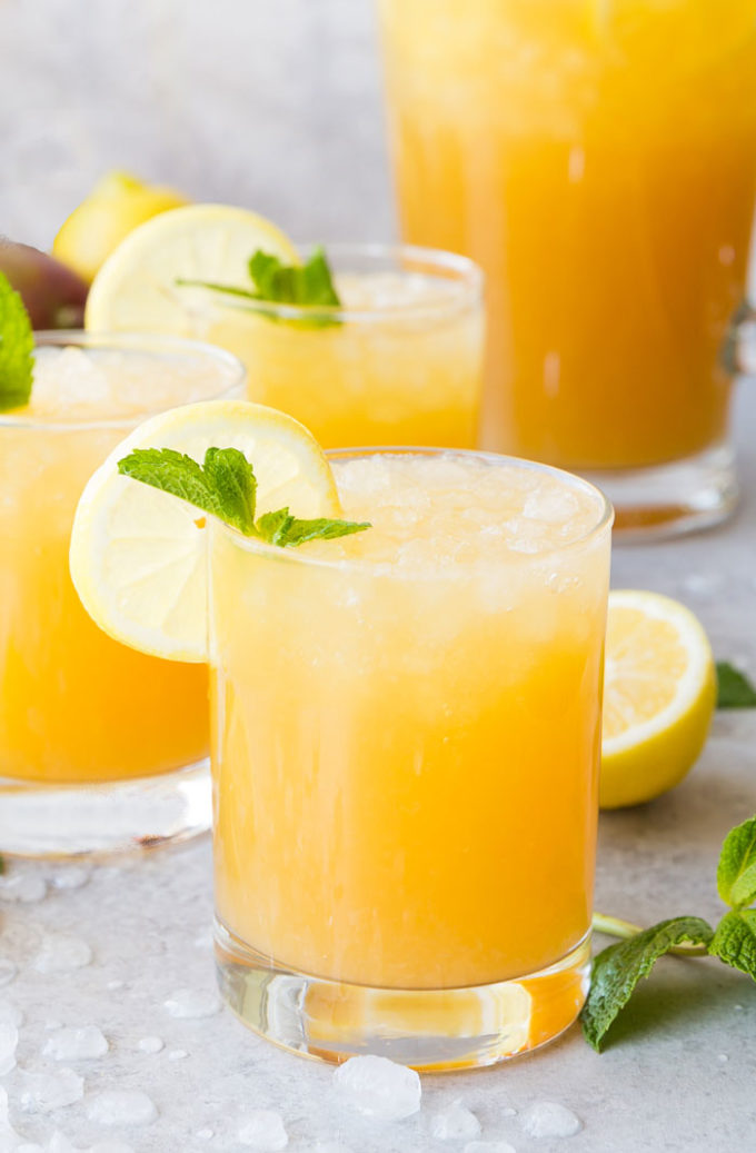 Mango Black Tea Lemonade