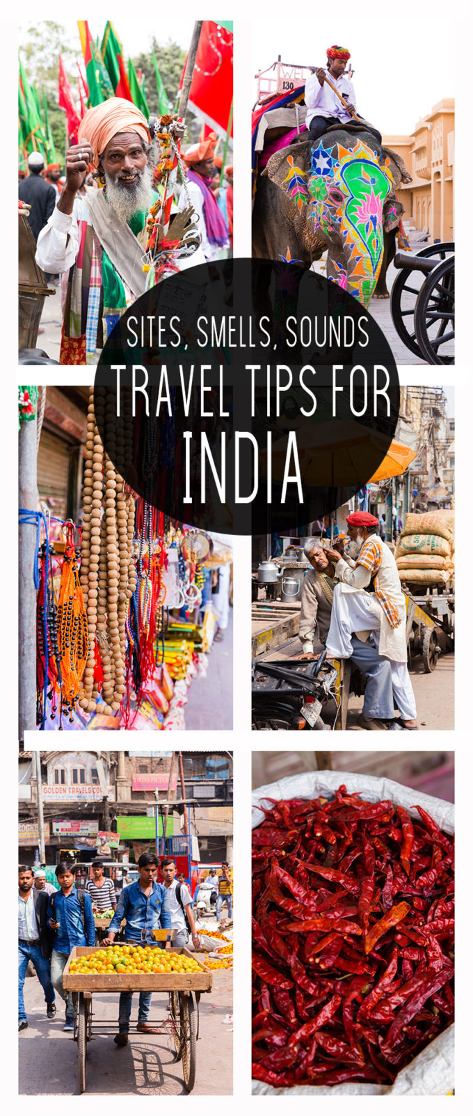 All the sites, sounds, and smells of India, how it is so unique and such a great place to visit.