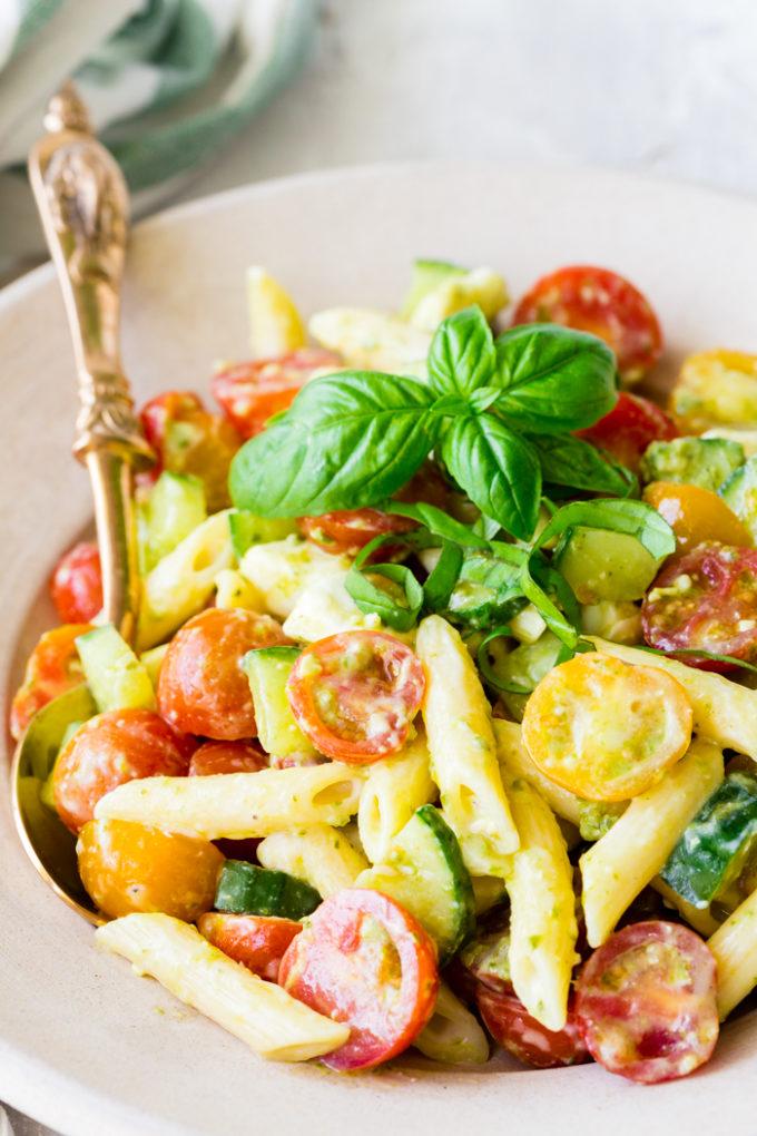 Italian Pasta Salad Easy Peasy Meals