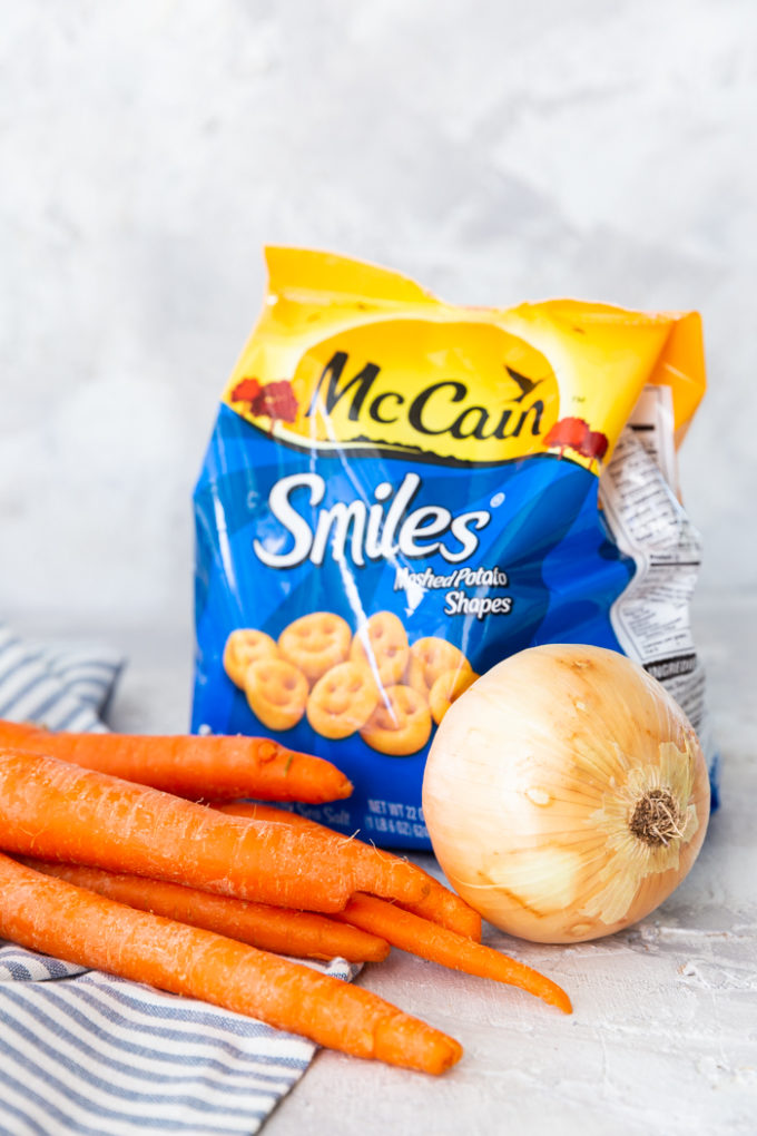 McCain Smiles and other ingredients