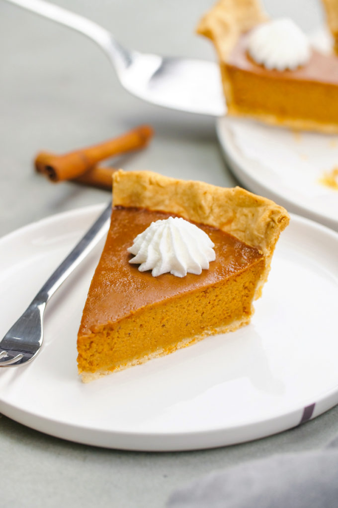 How to make pumpkin pie.