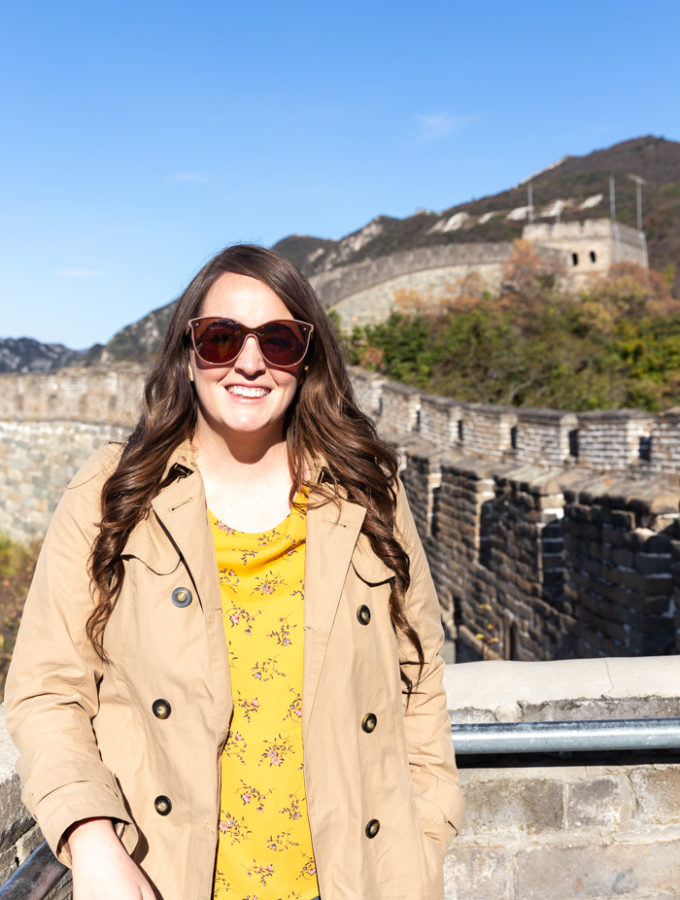 Visiting the Great Wall of China