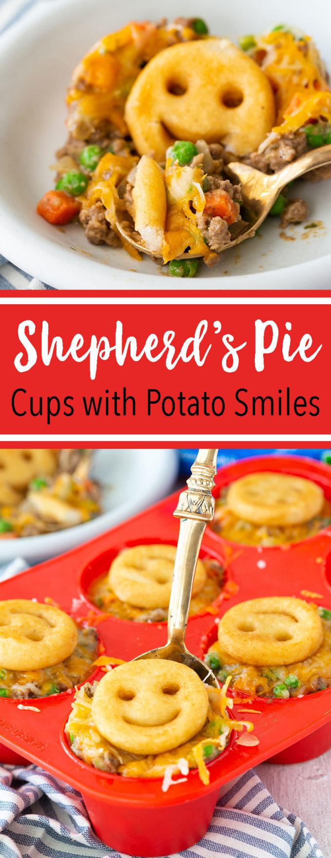 Shepherd's Pie mini cups