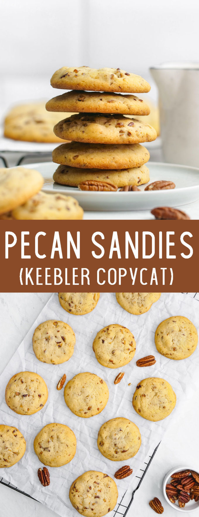 Easy to make, deliciously buttery Pecan Sandies copycat cookies